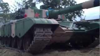 World Of Tanks Rc Tank ZTZ 99 Metal