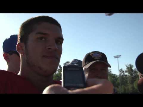 Trey Burton Interview 4/8/2010 video.