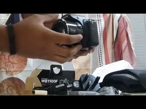 Samsung WB1100F UNBOXING