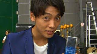 竹内涼真、自主練「スースー&スー」70回!!/ロッテ「EAT MINT」CMメイキング
