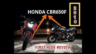 7. 2018 Honda CBR650F First Ride Review
