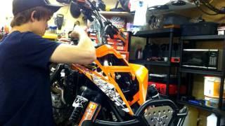 9. 2009 KTM 450 SX ATV Build