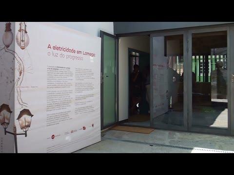 Exposição na renovada Casa dos Bordalos sobre a história da electricidade em Lamego