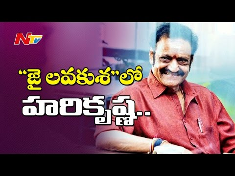 Nandamuri Harikrishna Hubbub at Jr. NTR Movie Set