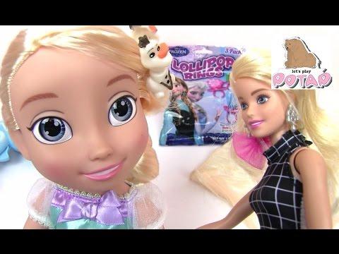 Как сделать из куклы барби куклу эльзу