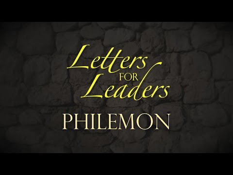 """Letters For Leaders"" Part 1 – Pastor Raymond Woodward"