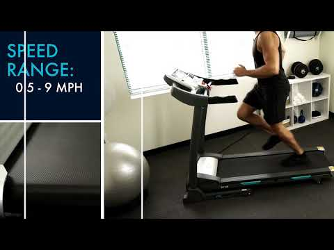 EFITMENT T012 Auto Incline Folding Treadmill with Bluetooth