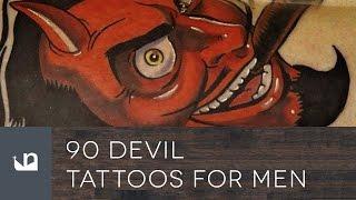 Video 90 Devil Tattoos For Men MP3, 3GP, MP4, WEBM, AVI, FLV Juni 2018