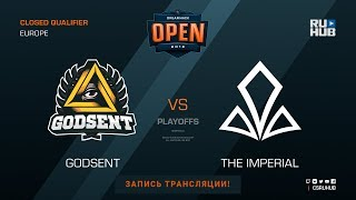 Godsent vs The Imperial - DH Summer 2018 EU Quals - map1 - de_mirage [Godmint, SleepSomeWhile]