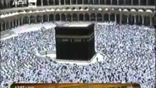 خطبة وصلاة الجمعة من المسجد الحرام في مكة المكرمة 4 5 1431 الجزء3
