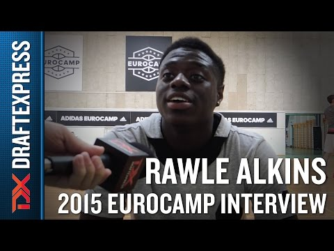 Rawle Alkins Interview at the 2015 adidas EuroCamp
