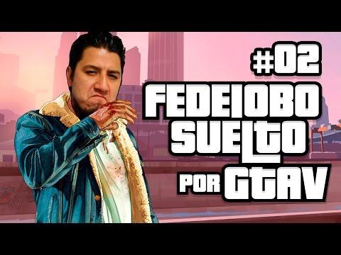 Fedelobo suelto en GTA V (Rescatando a Lebron James)