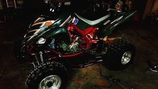 8. 2007 Yamaha Raptor 700 Walk Around