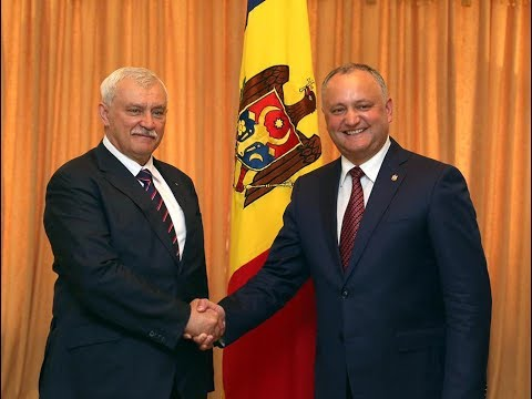 Igor Dodon a avut o întrevedere cu guvernatorul orașului Sankt Petersburg