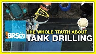 If I drill a 40 breeder aquarium, what overflow, bulkheads, and hole saws do I need? | 52 FAQ