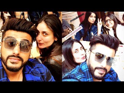 Kareena Kapoor, Sonam Kapoor Chill With Arjun Kapo