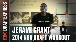 Jerami Grant 2014 Draft Workout for NBA Scouts