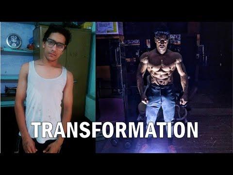 Fat burner - Rohit Khatri  4 Year Body Transformation (18-22)  Journy From Skinny to Fit