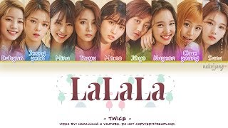 Video TWICE (트와이스) – LALALA (Color Coded Lyrics Eng/Rom/Han/가사) MP3, 3GP, MP4, WEBM, AVI, FLV Januari 2019