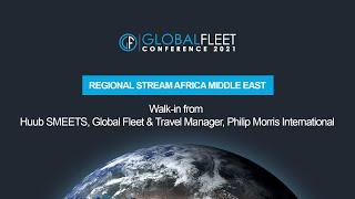 Walk-in from Huub SMEETS, Global Fleet & Travel Manager, Philip Morris International