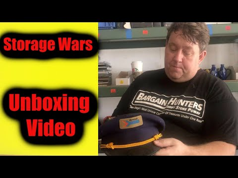 Storage Wars Auction  Unboxing Video Treasures Antiques Casey Rene Nezhoda