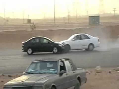 Desert Drifting Crashes 