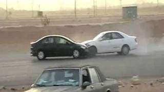 Drift Powerslides And Crashes In Saudi Arabia