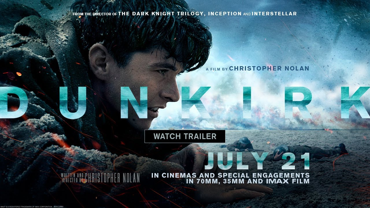 Time is Running Out. They'll Fight on the Beaches & the Landing Ground in Christopher Nolan's WWII 'Dunkirk' [TV Spot] with Ensemble Cast