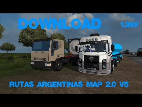 Map Rutas Argentinas v5.0 – 1.39.x