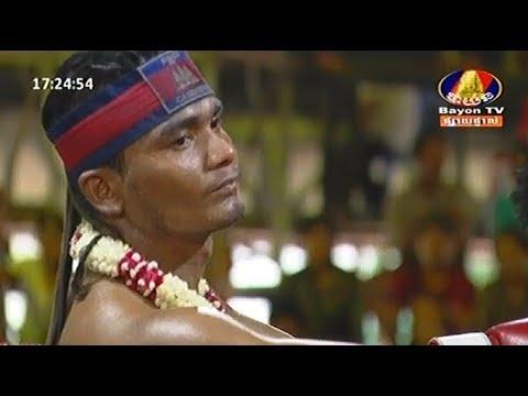 Meun Sophea vs Warchharalek(thai), Khmer Boxing Bayon 29 April 2018, Kun Khmer vs Muay Thai