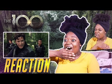 THE 100 Season 2 Episode 1 (Part 1) | REACTION!!