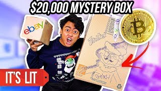 $10 VS $20,000 EBAY MYSTERY BOX! (Bitcoin?!)