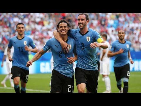 Fußball-WM Gruppe A: Russland und Uruguay im Achtelfi ...