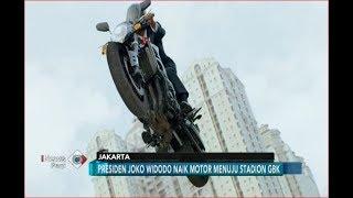 Video Terjebak Kemacetan, Beginilah ATRAKSI Jokowi Ngebut Naik Motor ke GBK - iNews Pagi 19/08 MP3, 3GP, MP4, WEBM, AVI, FLV Oktober 2018