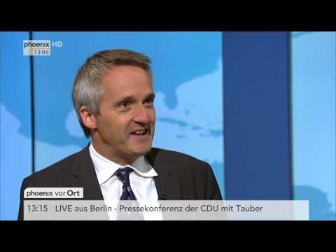 VW-Skandal: Frank Decker zur Rolle von Stephan Weil ...