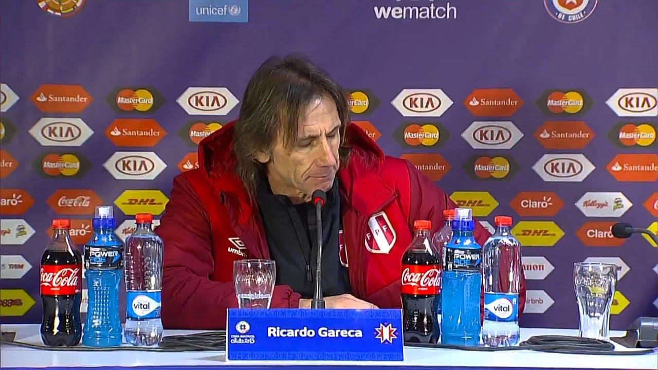 """Copa América 2015: Gareca: """"Não me conformo com a derrota"""""""