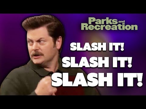 Ron Swanson Presents...Government Hatred 101 | Parks and Recreation | Comedy Bites