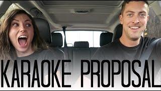 Video SURPRISE Carpool Karaoke Proposal! MP3, 3GP, MP4, WEBM, AVI, FLV Desember 2018