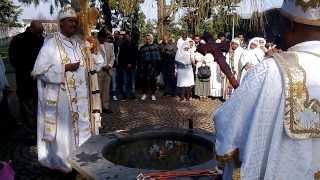 Orthodoxe éthiopienne Tewahedo የሎዛን ደብረ ኃይል ቅዱስ ገብርኤል ቤተ ክርስቲያን የጥምቀት በሀል ጥር 11 /2006 (19.01.2014)