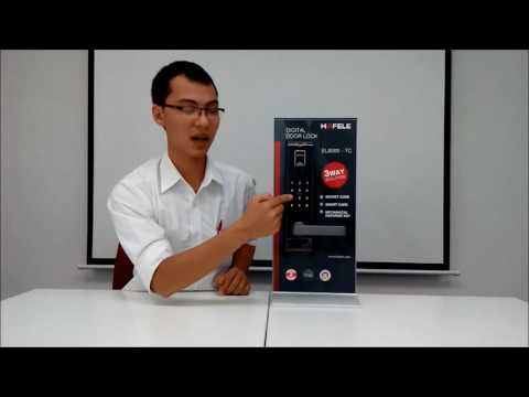 Khóa điện tử thông minh Hafele EL9500-TCS