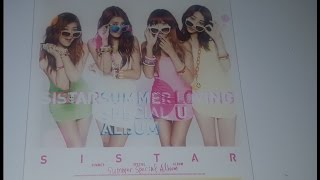 Download Lagu SISTAR - Summer Special Album Loving U unboxing Mp3