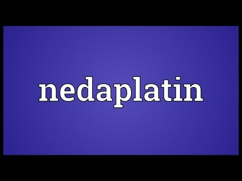 Nedaplatin Meaning