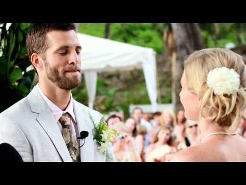 Costa Rica wedding videos: Jessica & Ryan highlights 1080p