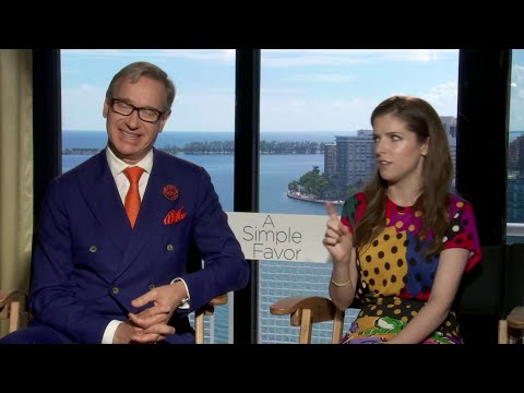Anna Kendrick speaks to Local 10 about new movie 'A Simple Favor'
