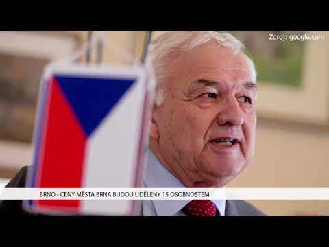 TV Brno 1: 13.12.2017 Ceny města Brna budou uděleny 15 osobnostem