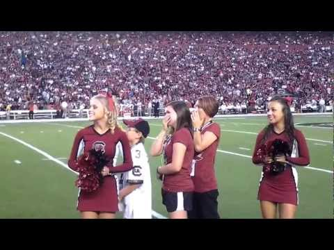 Video: Military Family Gets Surprise from Returning Dad at SC Football Game