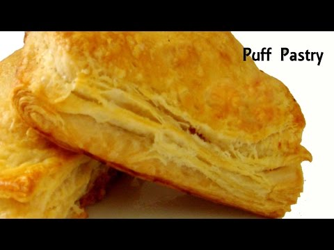 Quickest Puff Pastry Recipe || Puff Pastry Recipe