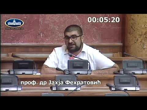 Dr. Fehratović u Skupštini o slučajevima Bakan i Skarep – Da pravda bude jednaka za sve
