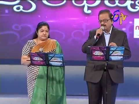 S.P.Balasubrahmanyam Chithra Performance - Rasanu Premalekhalenno Song - 20th July 2014 21 July 2014 12 PM
