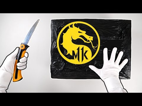 Unboxing MORTAL KOMBAT 11 Mystery Boxes! PS4 Special Controller, Headset, Collector's Edition...